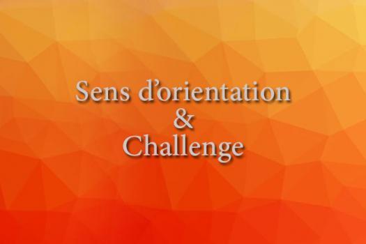 SENS D'ORIENTATION & CHALLENGE