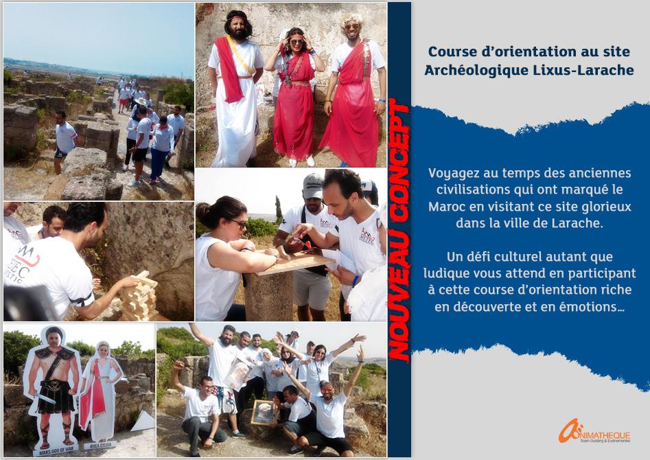 COURSE D'ORIENTATION AU SITE LIXUS-LARACHE